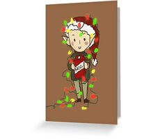 Solas' Egg Nog Greeting Card