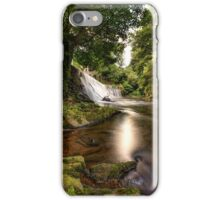 Dean Village Waterfall, Edinburgh iPhone Case/Skin