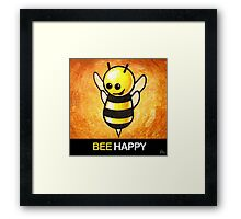 """BEE Happy"" POOTERBELLY Framed Print"