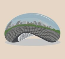 Cloud Gate (The Bean) by Turlguy