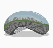 Cloud Gate (The Bean) Baby Tee