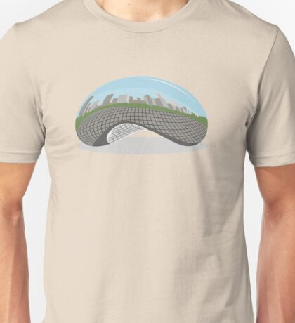 Cloud Gate (The Bean) Unisex T-Shirt