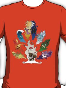 Eeveelution Tree ver. 2 T-Shirt