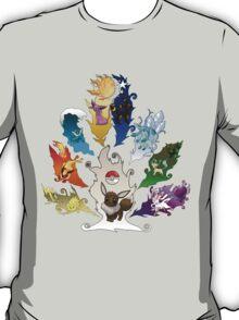 Eeveelution Tree ver. 2 T-Shirt
