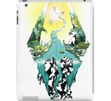 Nature Skyrim logo iPad Case/Skin
