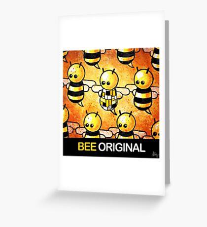 """BEE Original"" POOTERBELLY Greeting Card"