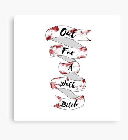 Spike Quote  Canvas Print