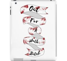Spike Quote  iPad Case/Skin