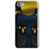 Halloween - Raven flock iPhone Case/Skin