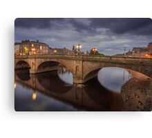 Ouse Bridge York Canvas Print