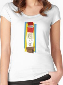 The Fantastic, Royal Life Limited at Rushmore Kingdom Women's Fitted Scoop T-Shirt