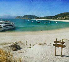 Praia de Rodas by rentedochan