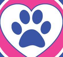 I LOVE MY YORKIPOO DOG HEART I LOVE MY DOG PET PETS PUPPY STICKER STICKERS DECAL DECALS Sticker