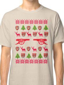 Arsenal 8-bit Holiday Sweater Classic T-Shirt