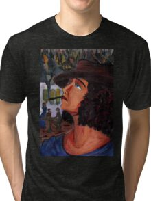 Variation on a portrait of Anais Nin Tri-blend T-Shirt