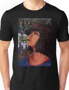 Variation on a portrait of Anais Nin Unisex T-Shirt