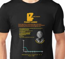 Fuzzy Logic and Lotfi Zadeh Unisex T-Shirt