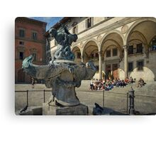 Fountains of Firenze Canvas Print