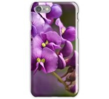 Purple cascade iPhone Case/Skin
