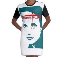 Headshot Graphic T-Shirt Dress