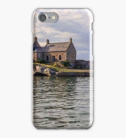 Cove Harbour in the Scottish Borders iPhone Case/Skin