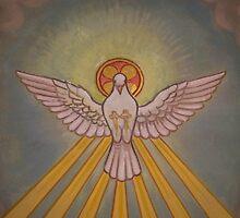 Dove Fresco, St. Malachy Church, North Philadelphia by PhillyChurches