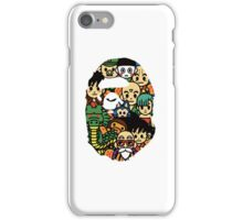BAPE x Dragon Ball iPhone Case/Skin