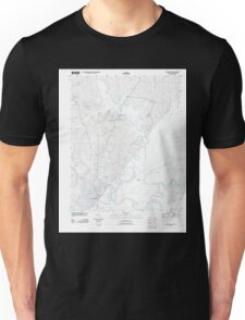 USGS TOPO Map Arkansas AR Pocahontas 20110803 TM Unisex T-Shirt