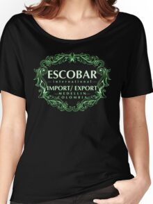 Escobar Import and Export White Mint Glow Women's Relaxed Fit T-Shirt