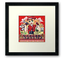 Casket Mechanics Framed Print