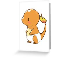 Baby CharChar Greeting Card