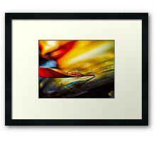 Agate Point Framed Print