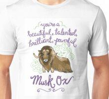 Beautiful musk ox Unisex T-Shirt