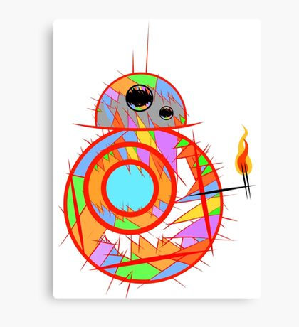 Fan art robot by MrNobody Canvas Print
