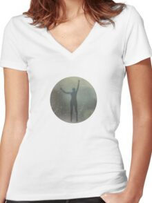 The Lost Files cover image Women's Fitted V-Neck T-Shirt
