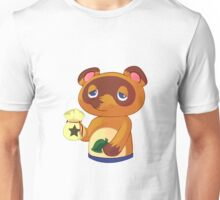 Tom Nook from Animal Crossing Unisex T-Shirt