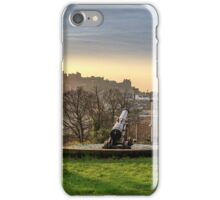 Edinburgh Skyline from Calton Hill. Scotland iPhone Case/Skin