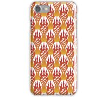 SCORCH pattern [White] iPhone Case/Skin
