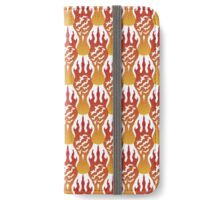 SCORCH pattern [White] iPhone Wallet
