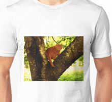 Tiger In A Tree Unisex T-Shirt