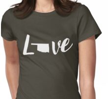 Love Oklahoma Womens Fitted T-Shirt