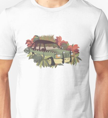 Jurassic Car Unisex T-Shirt