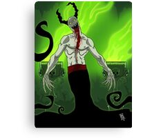 Demon Welcomes You Canvas Print