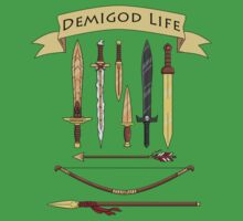 Demigod Life Includes Weapons One Piece - Short Sleeve
