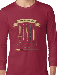 Demigod Life Includes Weapons Long Sleeve T-Shirt