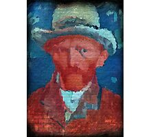 van gogh street art # 1 Photographic Print