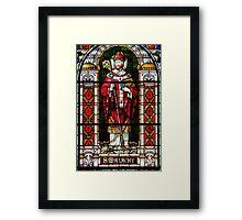 St. Malachy Window, St. Malachy Church, North Philadelphia Framed Print