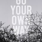 Go Your Own Way by GalaxyEyes