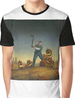 Night of the Jack-O-Laterns Graphic T-Shirt