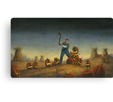 Night of the Jack-O-Laterns Canvas Print